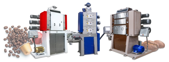 Modern Process Equipment Chicago's range of coffee grinding machinery for capsules, pods and pads