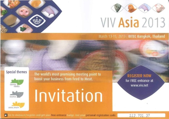 VIV Asia 2013 Invitation