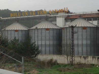 GSI silos in Bolu, Turkey